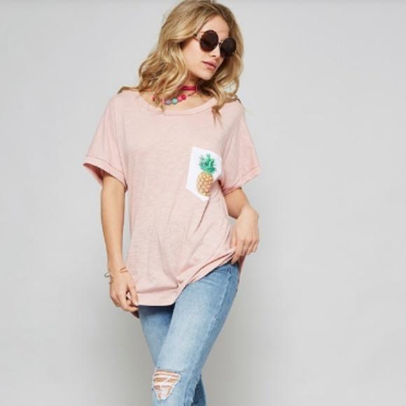 Tops - Pineapple T-Shirt